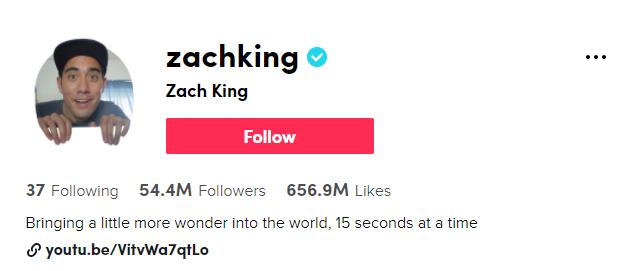https://www.tiktok.com/@zachking