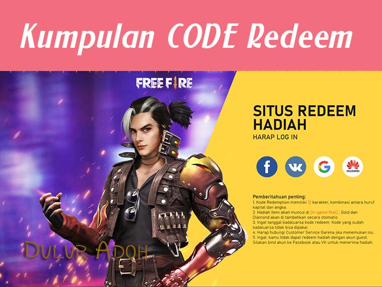 penukaran kode ff