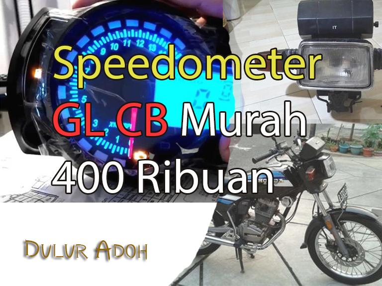 Daftar speedometer 400 ribuan