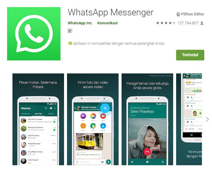 WhatsApp Playstore