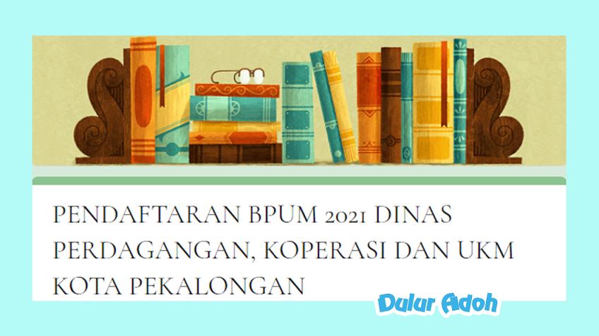 Link Pendaftaran BPUM 2021 Kota Pekalongan https://bit.ly/bpumkabpekalongan2021