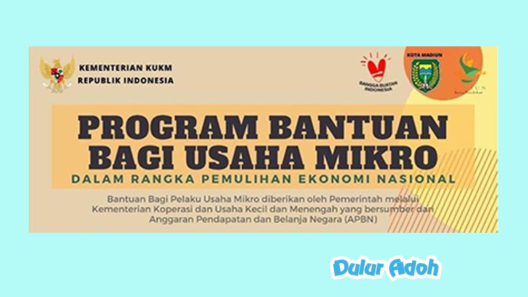 Link Pendaftaran BPUM 2021 Tahap 3 Kota Madiun Terbaru
