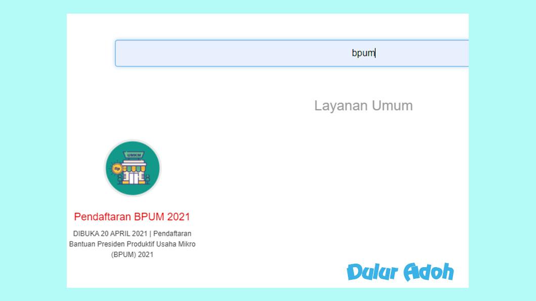 Link Pendaftaran BPUM 2021 Kota Yogyakarta hhttps://jss.jogjakota.go.id