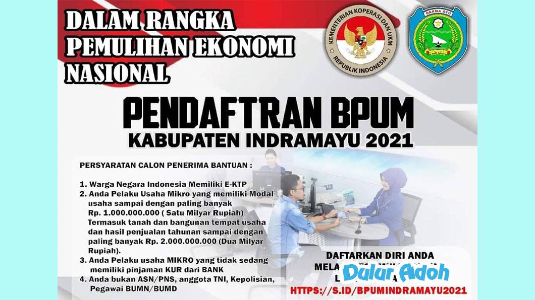 Link Daftar BPUM Tahap 3 Kab. Indramayu 2021 http://s.id/bpumindramayu2021