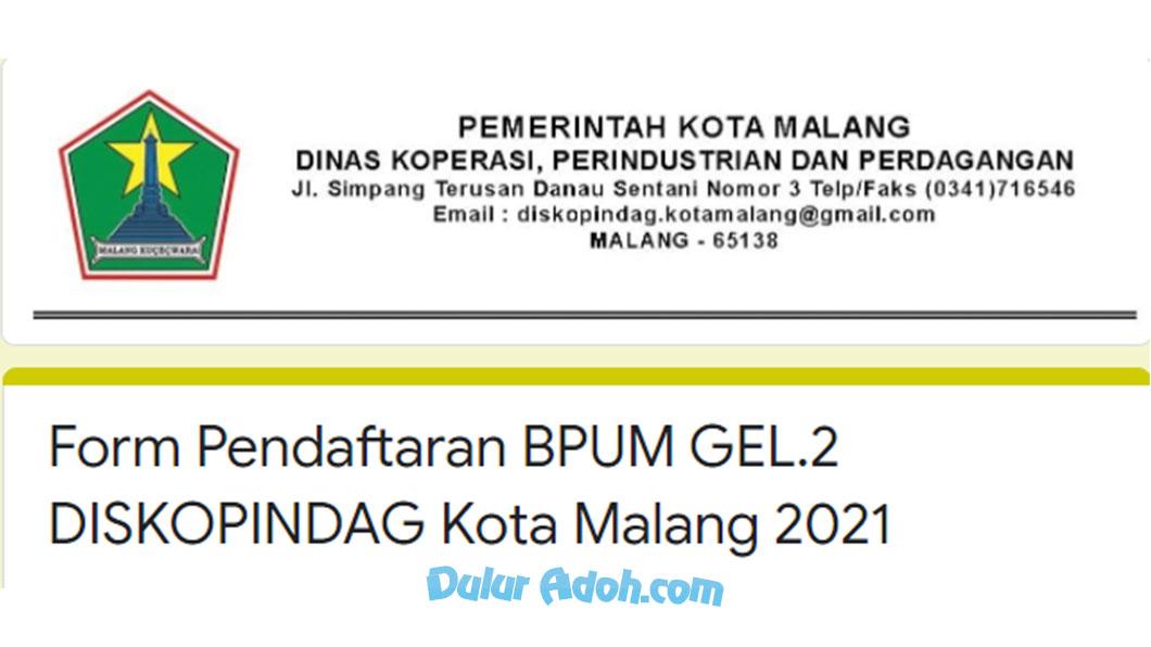 Link Daftar BPUM Tahap 2 Kota Malang Agustus 2021 http://bit.ly/BPUMKOTAMALANG2021
