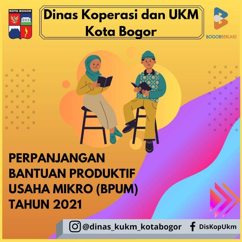 Brosur Pembukaan Pendaftaran Penerima BPUM 2021 Tahap III Kota Bogor 1