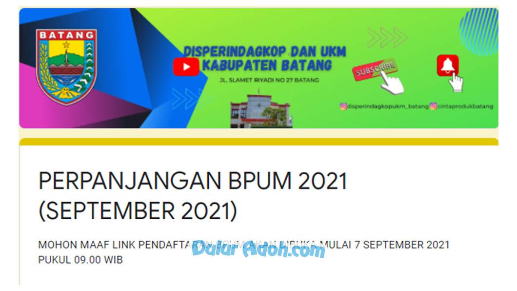 bit.ly/BPUM2021-Batang Link Daftar BPUM Kab. Batang Tahap 4 September 2021